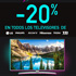 Â¡Solo hoy! Descuento del -20% en Televisiones